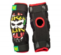 Aazis Plus 130 Soft Knee/Shin Guard Rasta