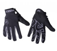 Venture Glove Logo Black/Grey